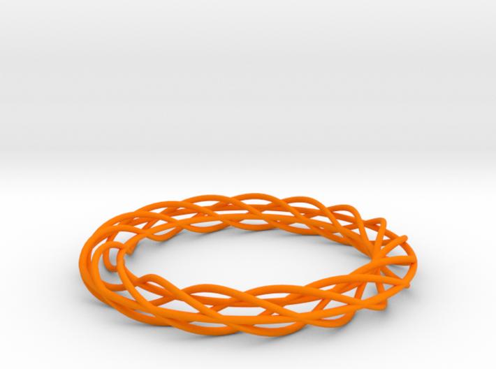 Twist Bangle A02M 3d printed