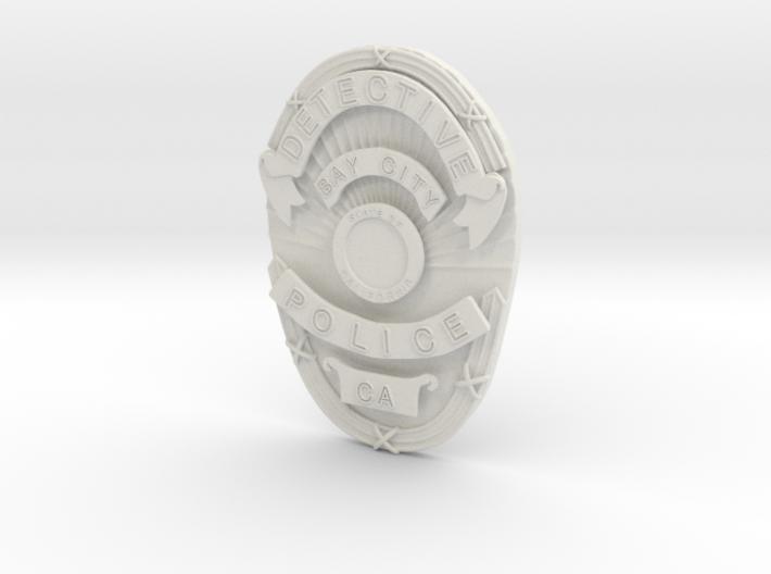 Starsky Badge 3d printed
