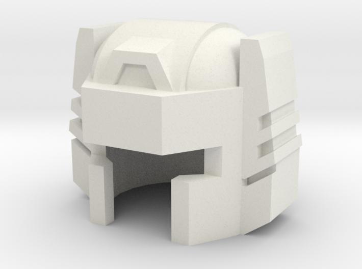 Robohelmet: Bullet Head v2 3d printed