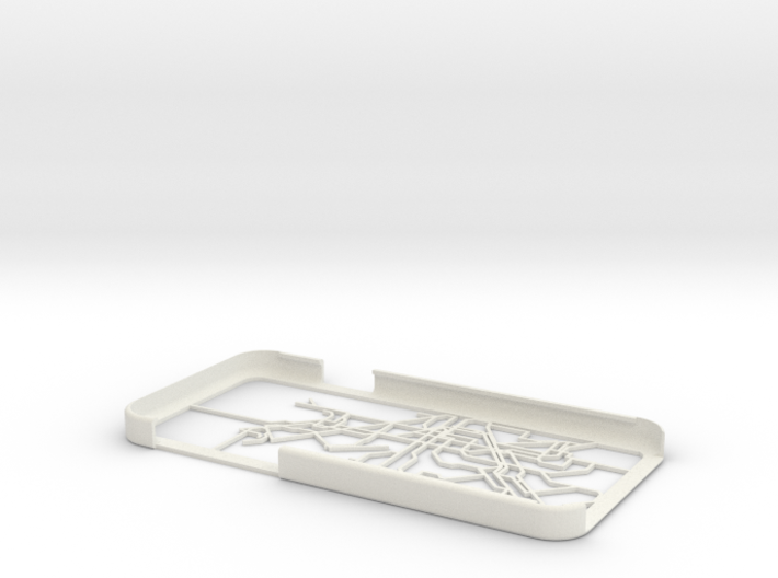 Barcelona Metro map iPhone 6 case 3d printed