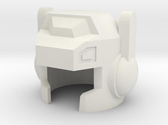 Robohelmet: Shoots-a-lot v2 3d printed
