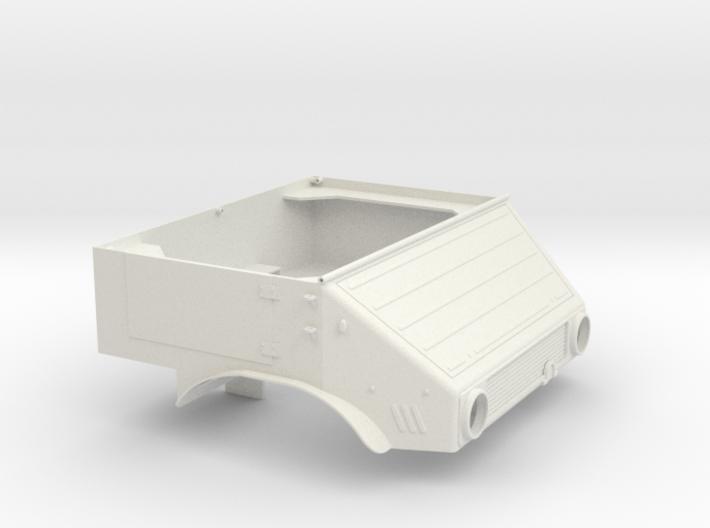 Unimog U401 Fahrerhaus 1:10 3d printed