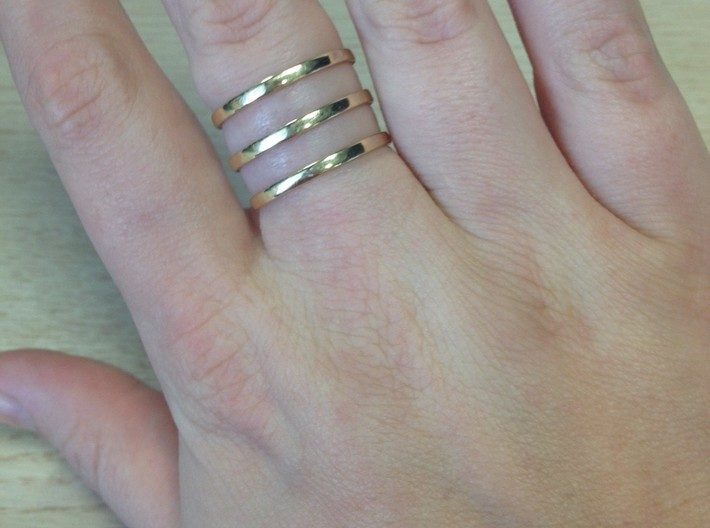 Hayley Ring Size 8.5 3d printed Add a caption...