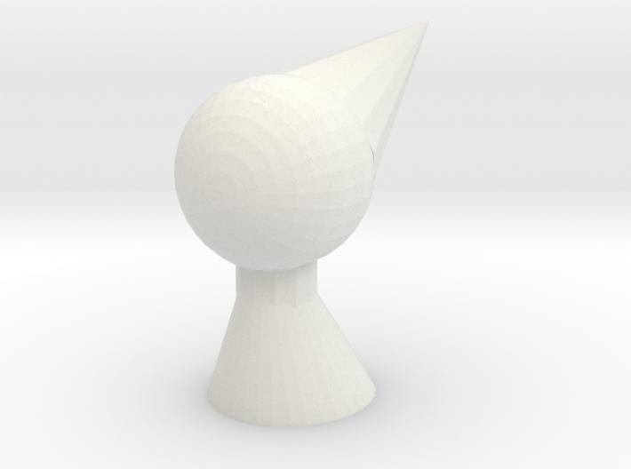 Ida practice head 3d printed