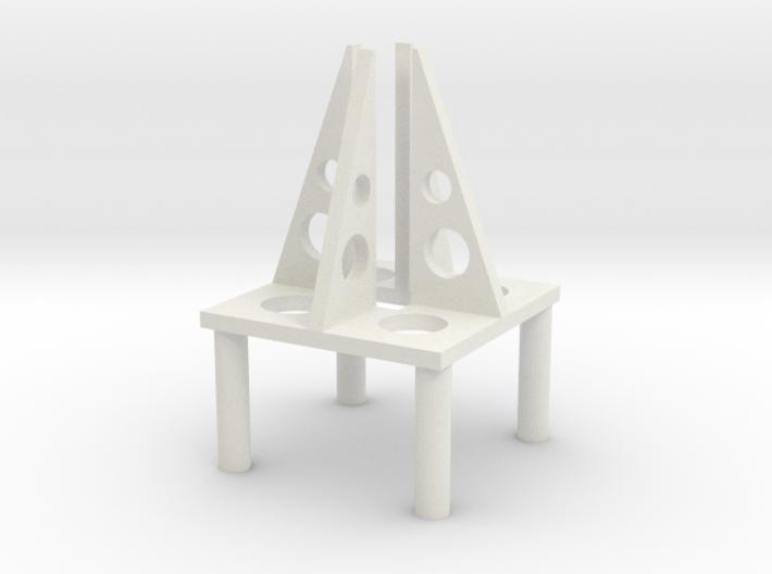 Magnet Rocket 3-02 3d printed