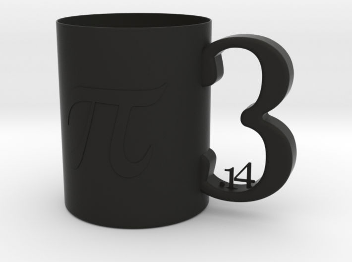 PI Children Mug 8oz 3d printed