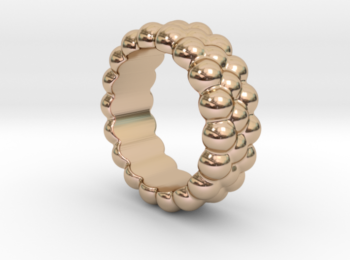 RING BUBBLES 15 - ITALIAN SIZE 15 3d printed
