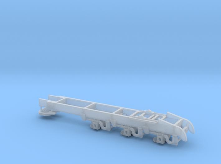 1/64th Tridem drive semi truck drop frame  3d printed