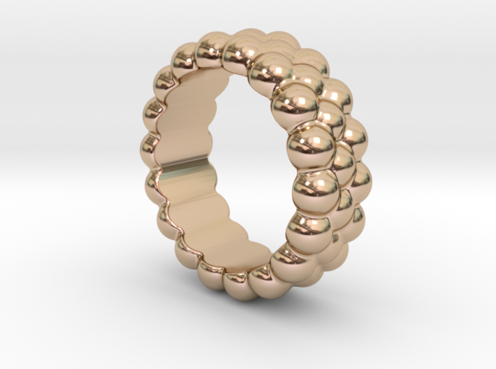 RING BUBBLES 16 - ITALIAN SIZE 16 3d printed