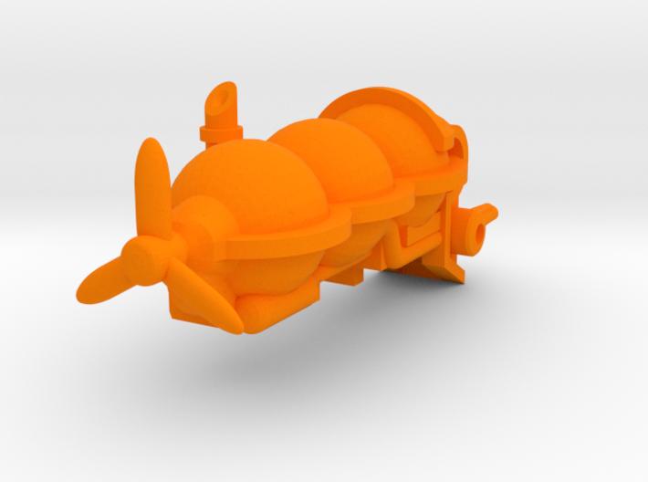 Sentinel | Steampunk Airship Miniature 3d printed