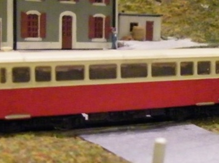 Autorail De Dion NR M21 Nm 1:160 3d printed completed model