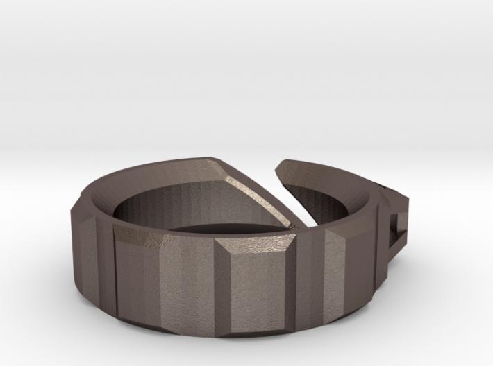 Q-Clip Key Dangler - Left Handed Carry 3d printed