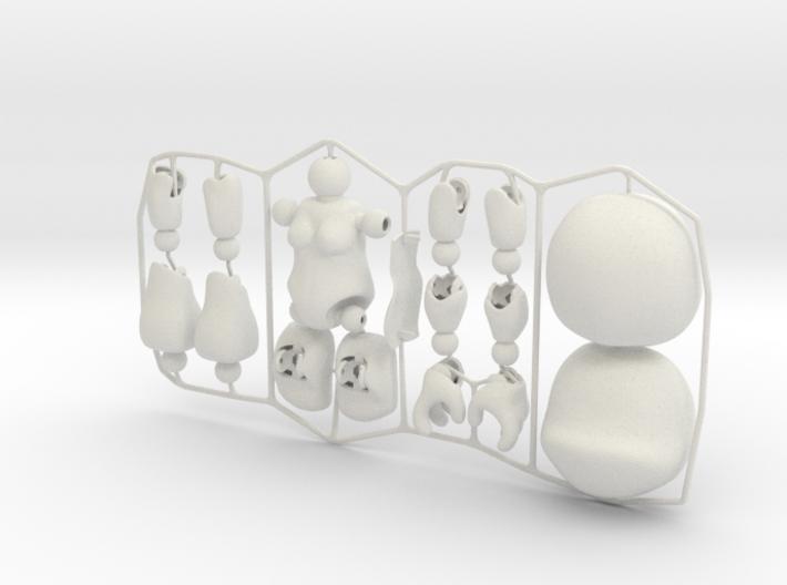 Female CAP-Figure 2015 3d printed