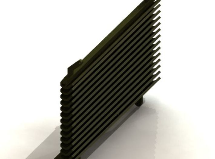 D78458 DEFLECTOR ASSEMBLY 3d printed Rendering of CAD model