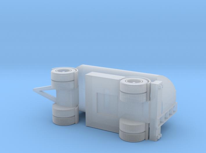 2-Axle Tank-Trailer, 2-Achs Tank-Anhänger 1/285 6m 3d printed