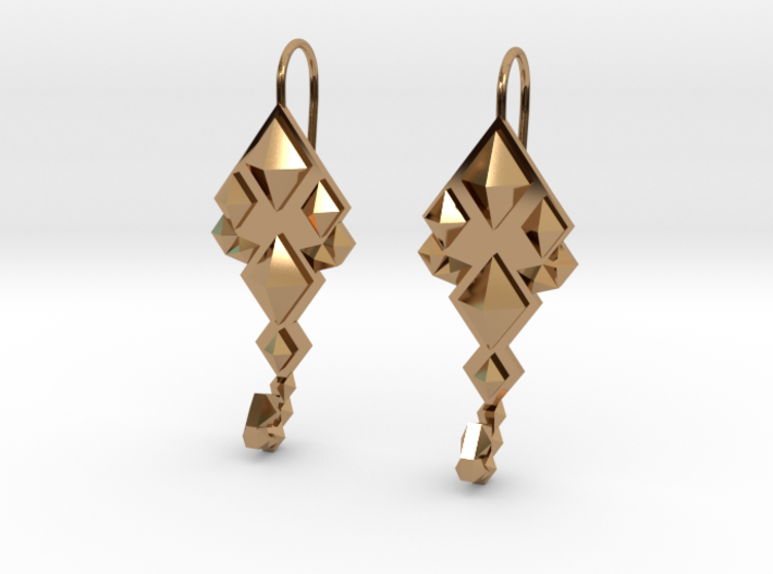 SacredScorpio earrings 3d printed
