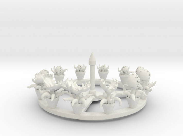 Carnivore Fly Trap Zoetrope 3d printed