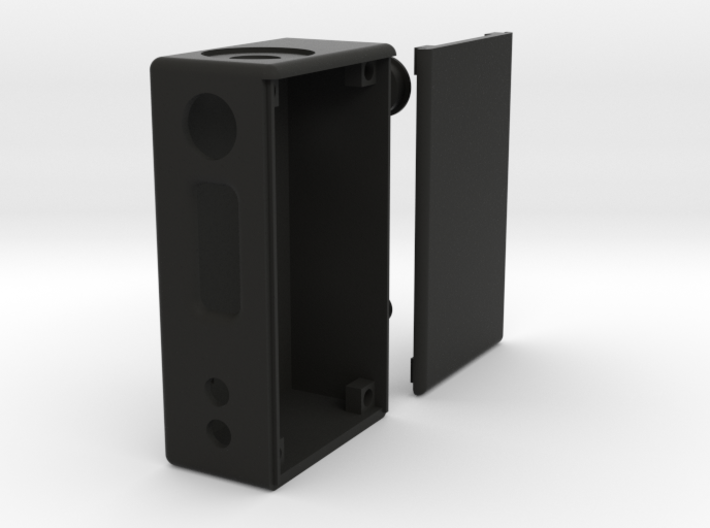 Box Mod Complete With Door & Button Caps 3d printed