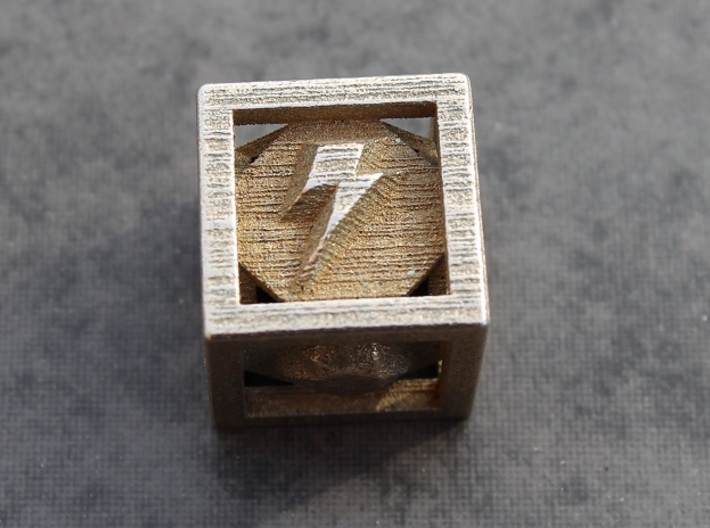 "Elements of Harmony Die 3d printed The Element of ""Loyalty"" in Stainless Steel"
