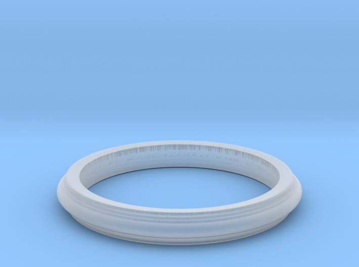Scalloped Edge Bracelet 3d printed