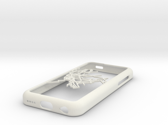NYC subway map iPhone 5c case 3d printed