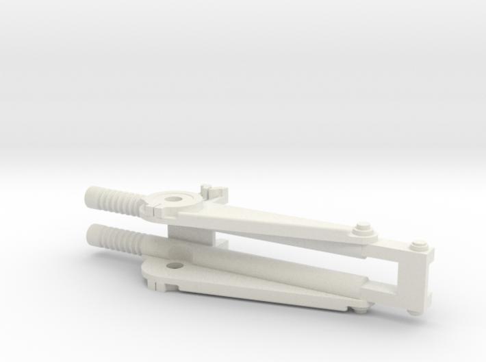 1:16 AA Mount for DShK machine gun. Part B 3d printed