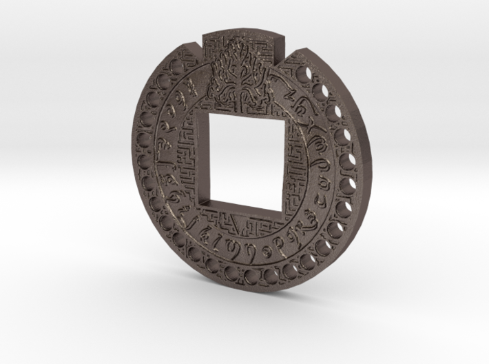 Fantasy Lord of the Rings Style Secret Code / Deco 3d printed