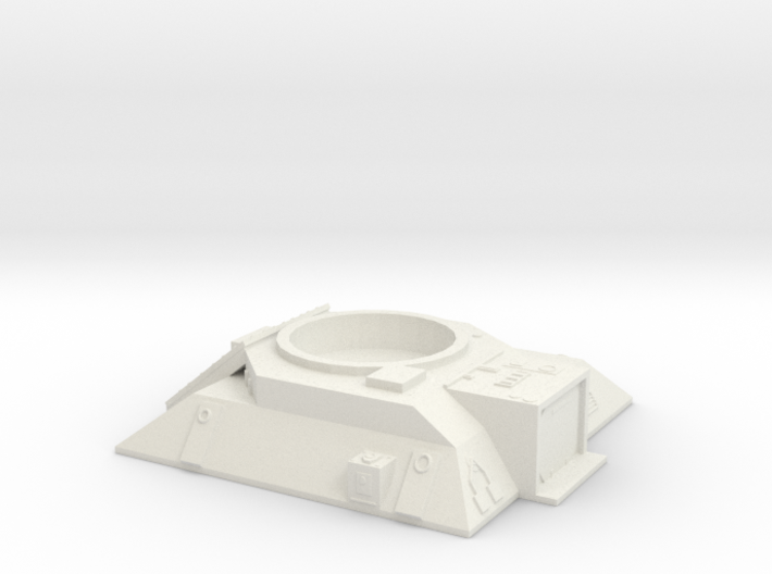 Turret Emplacement 3d printed