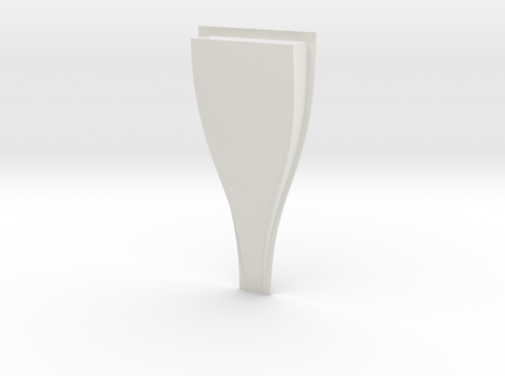 NACA Duct Mold 3d printed