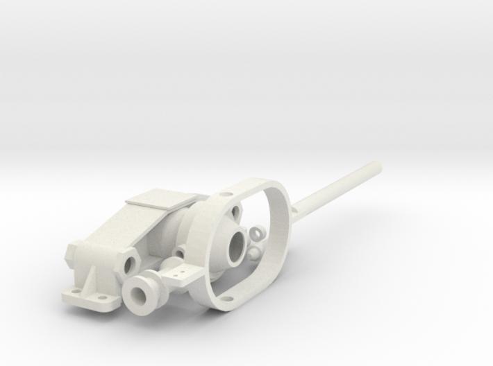 Schalthebel für Kromhout Motor 1/6 3d printed