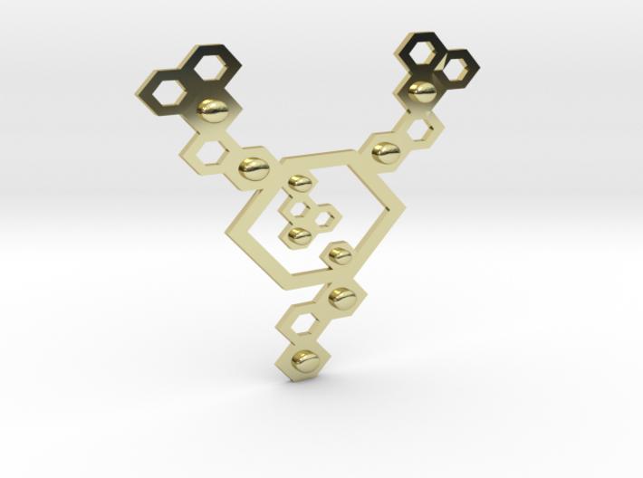 QeensNest pendant/necklace 3d printed