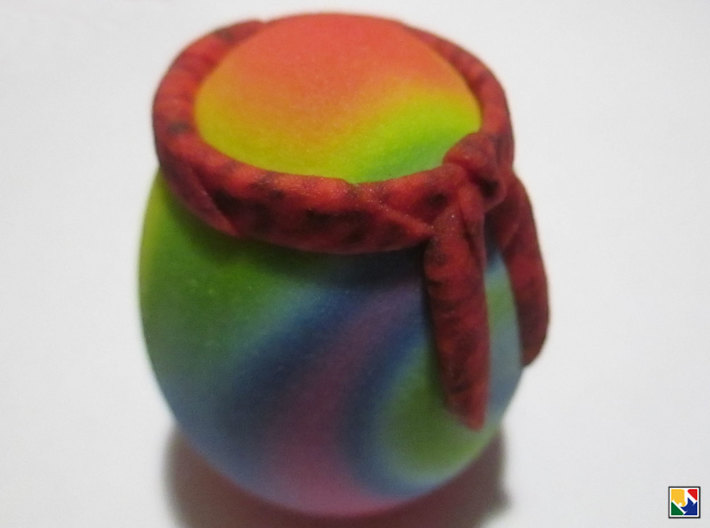 Hippie Egglet 3d printed