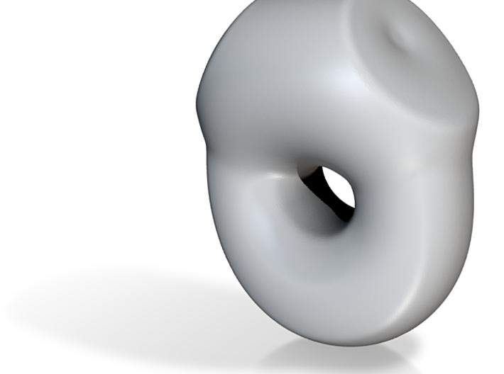 Topology joke (porcelain) step 5 3d printed