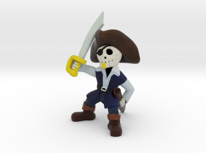 Jolly Roger 3d printed