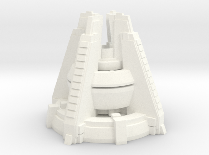 Scifi powerplant concept 3d printed