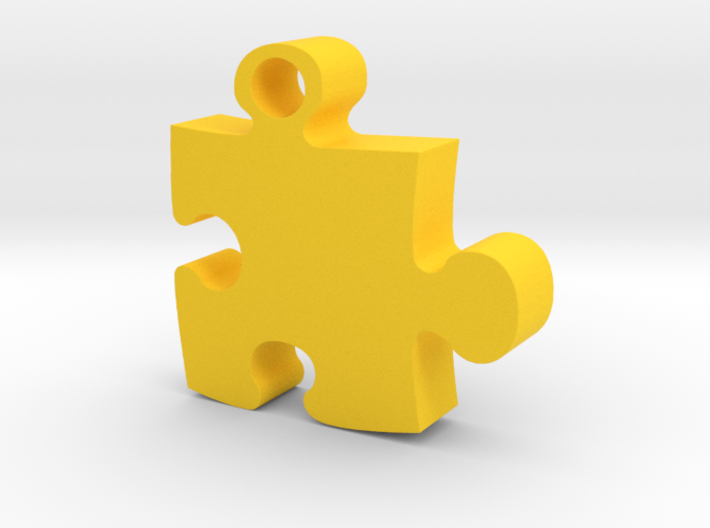 Puzzle piece 3d printed