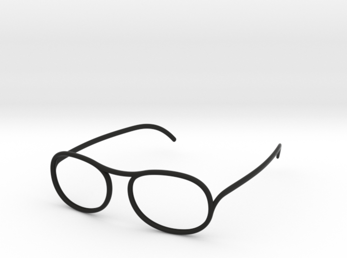 'Wire' glasses for Eyewear Kit 3d printed