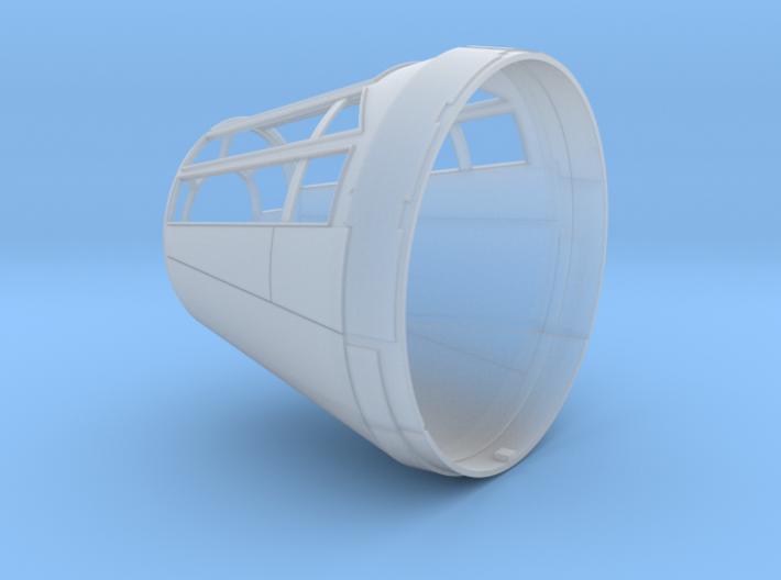 Millennium Falcon Nose Cone DeAg Studio Scale  3d printed