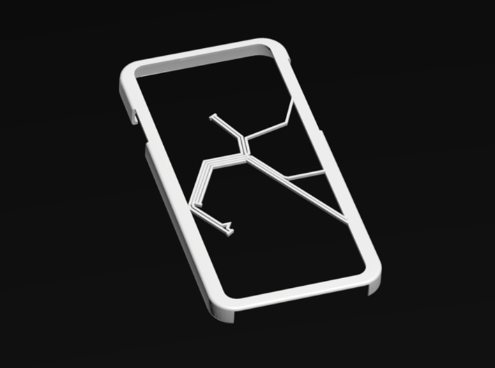Bay Area Rapid Transit map iPhone 6 case 3d printed