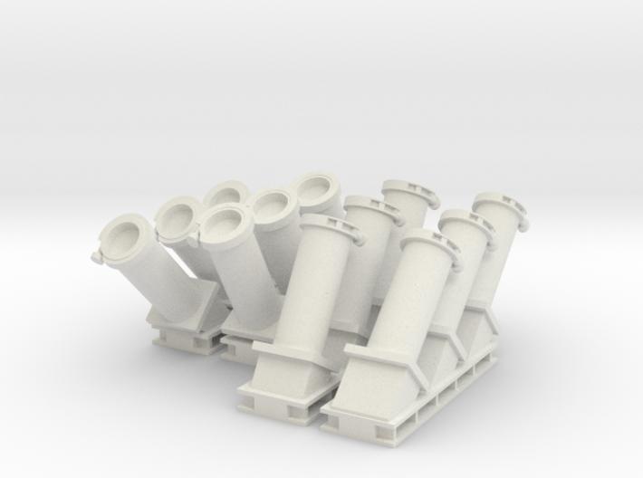 1:48 scale MK 36 SRBOC Chaff Launchers 3d printed