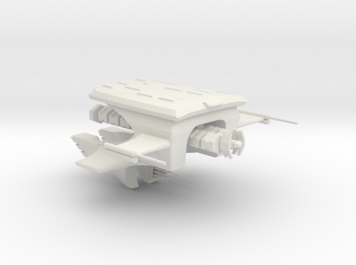 Carcharcal Fluyt with Cargo pod 3d printed