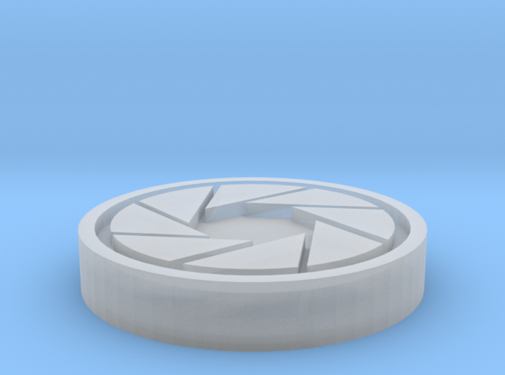 Aperture Science Coin 3d printed