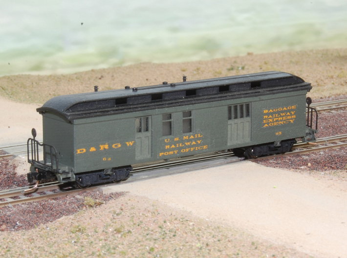 Nn3 Chili Line Train 3d printed RPO