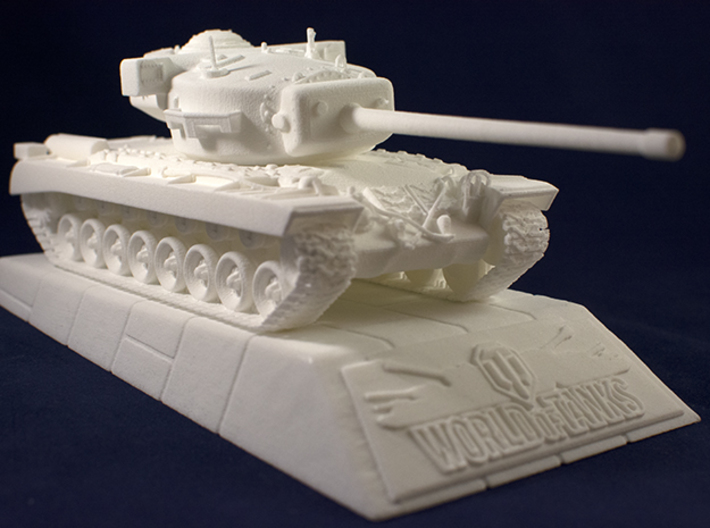 1:48 World of Tanks stand for miniatures  3d printed Stand with T-29  model. T-29  is sold separately
