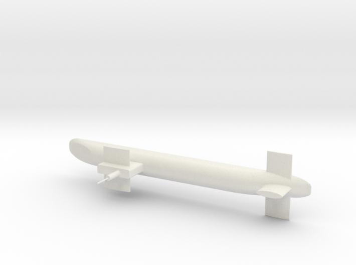 Trident Submarine 3d printed