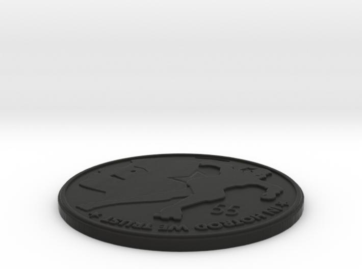 suzy hotrod medallion 3d printed
