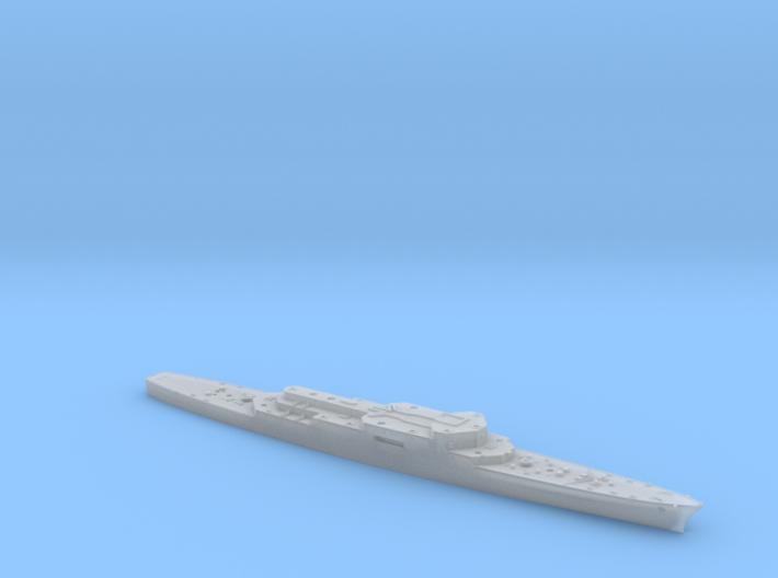 1/700 COLBERT French AA Cruiser HULL 3d printed