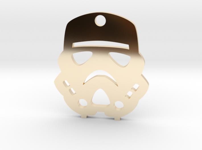 Imperial Stormtrooper Pendant 3d printed