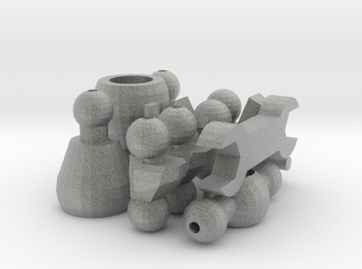 NoPaint AF Disposal (pt3: gray) 3d printed