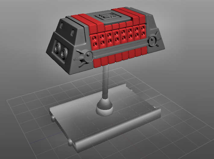 2x Class-A Cargo Container 3d printed